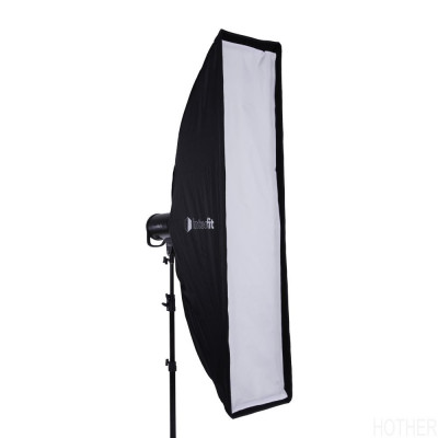 Interfit foldbar Softbox - Strip med Grid - 30x139cm