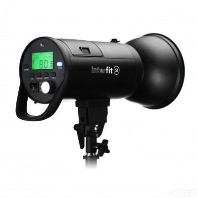 INTERFIT S1 TTL og HSS batteri kompakt flash
