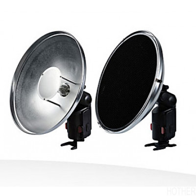 Interfit Strobies  PRO-FLASH BeautyDish kit med bikube STR207