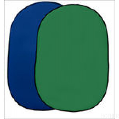 Interfit Chromakey Green + Blue  Pop-up 1,5mx2m