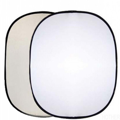 Interfit Soft Sun/White foldebar rektangulær Reflector 127x152cm INT298