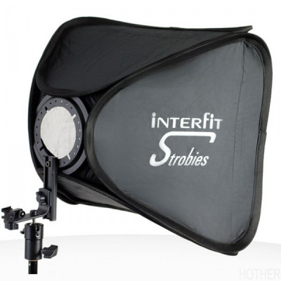Interfit Strobies XL Folding Softbox Kit-Large - 60cm